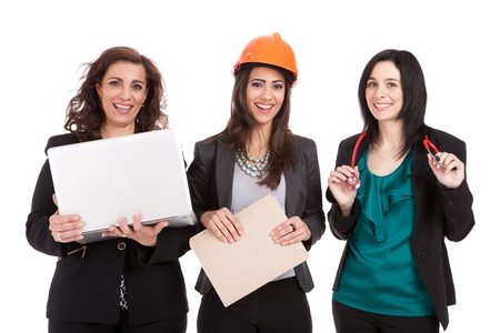 Professional women in the workforce  photo