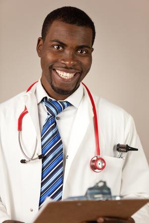 estudiantes medicina: Joven m�dico Foto de archivo