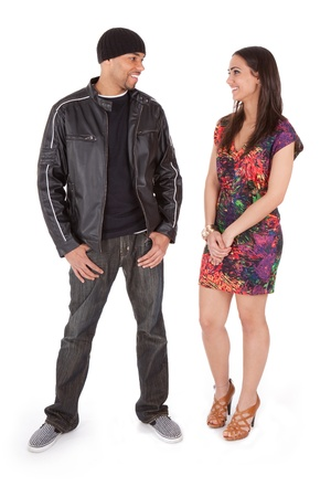 matchmaker: Boy Meets Girl  Stock Photo