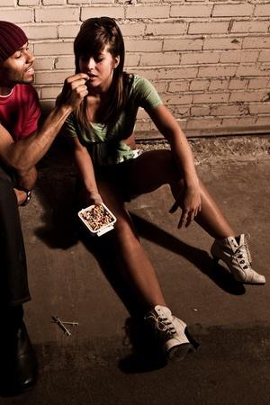 Prescription drug abuse  Banque d'images