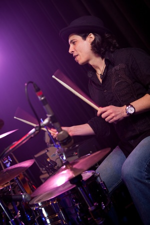 Drummer  Stock Photo - 11700087