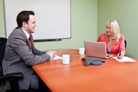 Job Interview  Stock Photo - 12065559