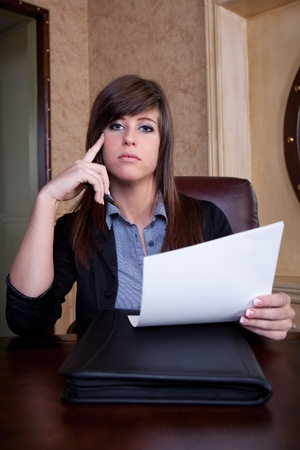 tough girl: Job interview scrutiny