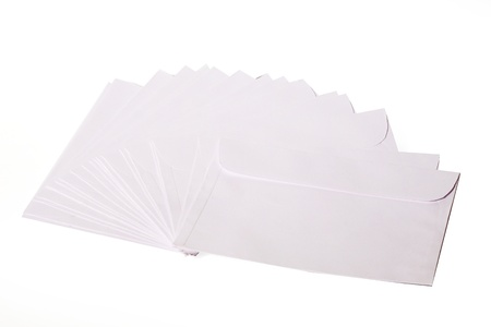 Close-up of envelopes Stock Photo - 17327307