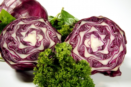 Close-up of cabbage and broccoli Stock Photo - 17327263