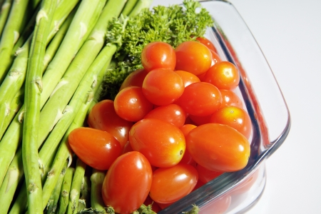 Close-up of fresh vegetables Stock Photo - 17327329