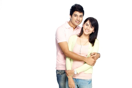 Portrait of  young couple Stock Photo - 17327552