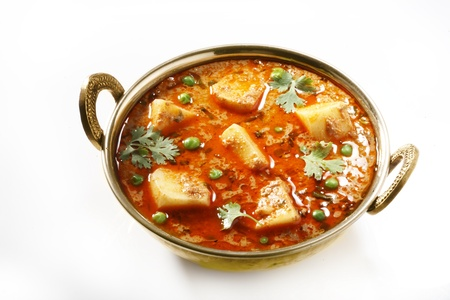 Potato curry,indian food Standard-Bild