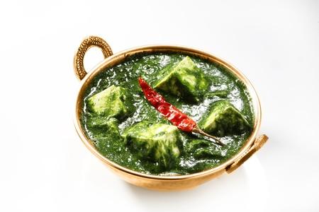 Palak Paneer, indisches Essen