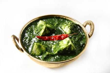 Palak Paneer, indisches Essen Standard-Bild - 21747820