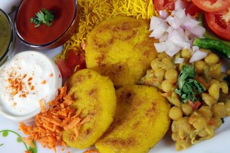 sev: Close-up of ingredients of ragada