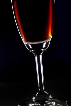 Close-up of a glass of wine Standard-Bild