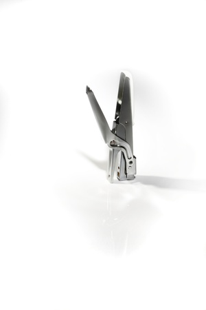 Steel stapler