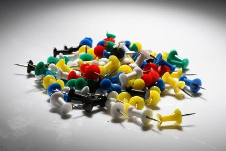 Heap of push pins