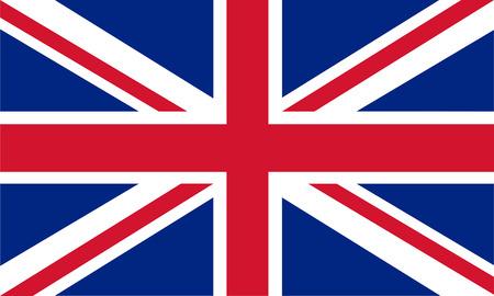 Britse vlag Stockfoto