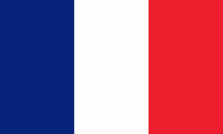toulouse: french flag Stock Photo