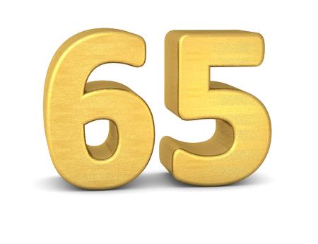 cipher: 3d number 65 gold