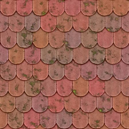 fractures: vintage clay bricks texture seamless Stock Photo