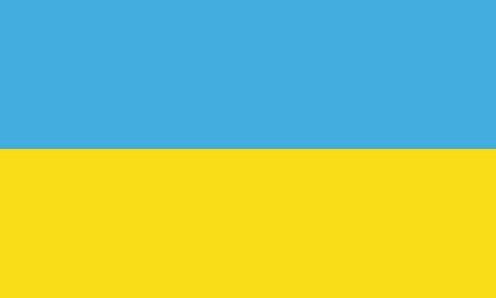 ukrainian: flat ukrainian flag