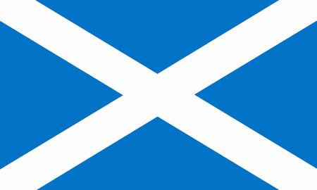 flat scottish flag