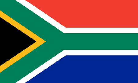 flat south african flag