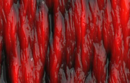 rode spierstructuur
