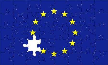 European union puzzle jigsaw crisis