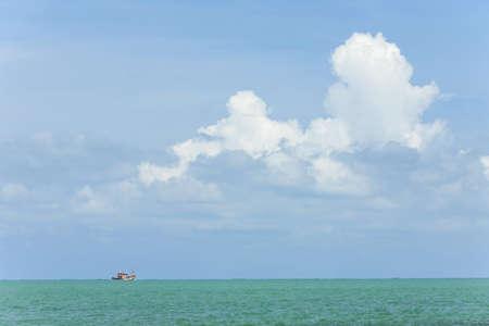fishman: fishing boat in gulf of Thailand