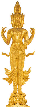 god icon: Trimurti Hinduism of thailand