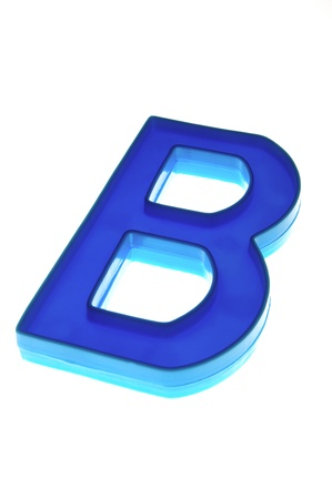 Alphabet B Stock Photo - 11606355