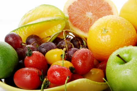 Assorted fruits Stock Photo - 11609940