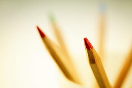 A shot of colour pencils  Stock Photo - 11630413
