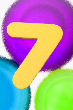 Number 7 Stock Photo - 12592981