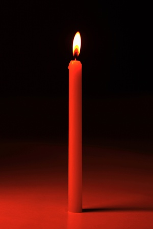Lit candle Stock Photo - 12593684