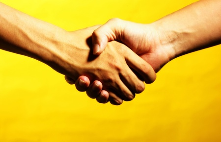 Handshake Stock Photo - 12642255