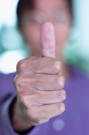 Thumb up Stock Photo - 12642297