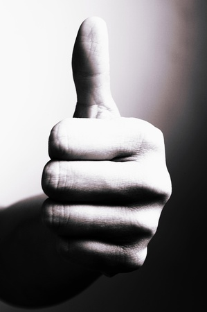 Thumb up Stock Photo - 12642404