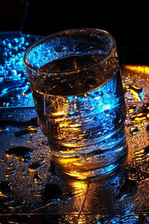 Glass of water Stock Photo - 12642776