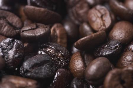 Very Dark Coffee Beans Stock Photo - 12642936
