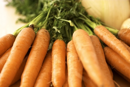 Fresh Carrots Stock Photo - 12642946