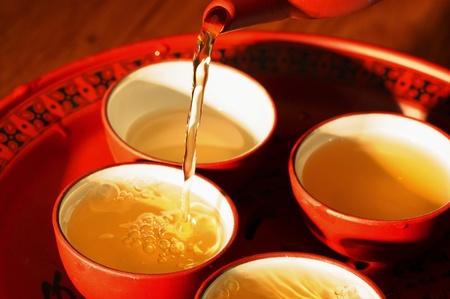 Pouring tea Stock Photo - 12644412