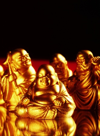 Golden buddha Stock Photo - 12644439