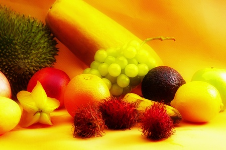 Various types of fruits Stock Photo - 12644590