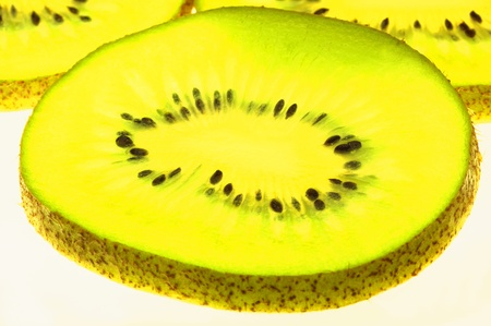 Sliced kiwi fruits Stock Photo - 12644630