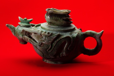 Teapot with special design and carving Stock Photo - 12645095