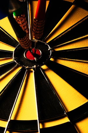 Triple bullseye Stock Photo - 12645173