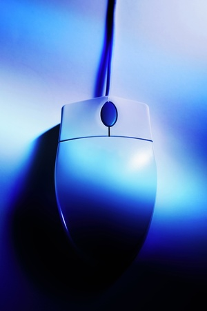 Top angle view of a computer mouse Stock Photo - 12645795