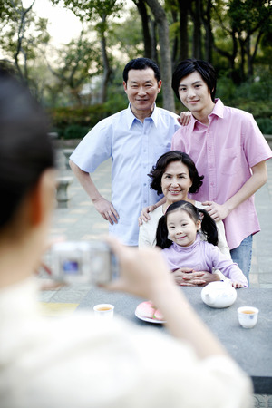 cool gadget: Taking a family picture