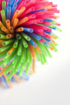 drinking straw: Colourful drinking straw