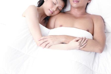 pareja durmiendo: pareja durmiendo LANG_EVOIMAGES